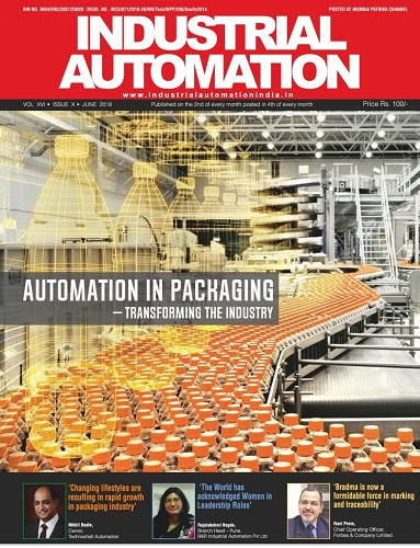 Technoshell Automations featured in Industrial Automation June 2018