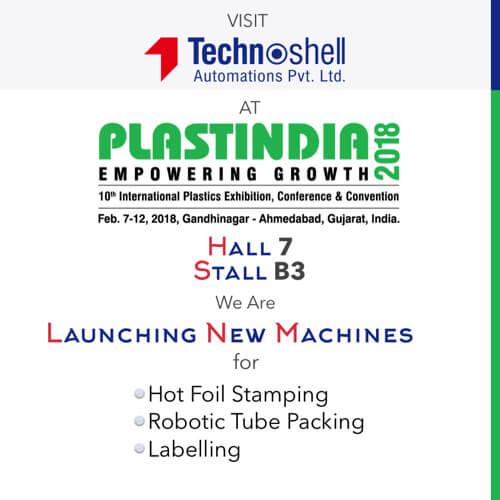 Visit us at PlastIndia 2018